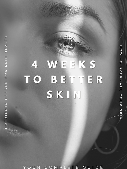 4 Weeks to Better Skin