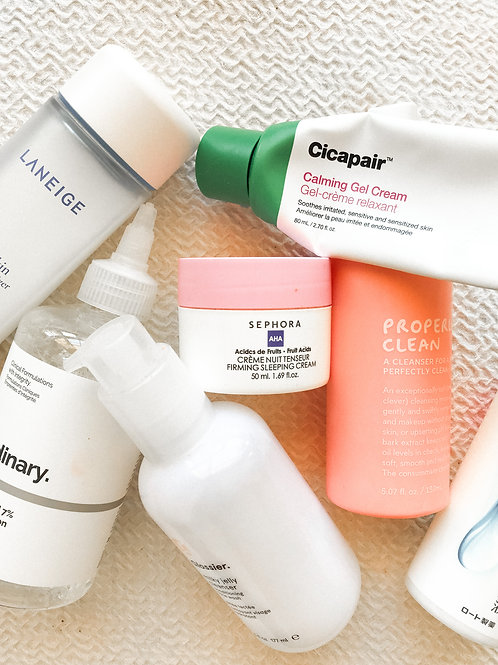 Personalised Skincare Overhaul