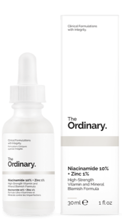 Rosacea Treatment - The Ordinary Niacinamide 10% + Zinc 1%