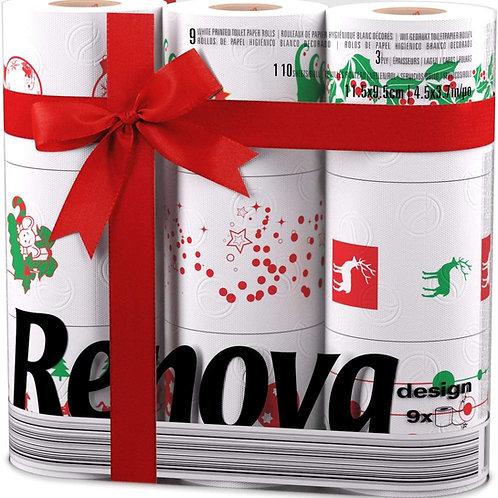 Renova Christmas toilet rolls