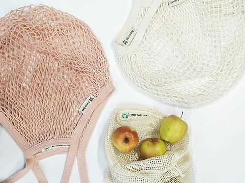 Organic Long Handled String Bag