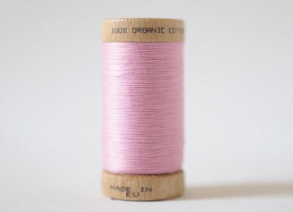 Bobine fil coton BIO Rose
