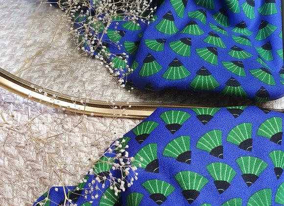 Dancing Fans - Dragons & Lanterns - Kate Merritt - Cloud 9 Fabrics