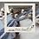 Thumbnail: Viscose rayée bleu et blanc