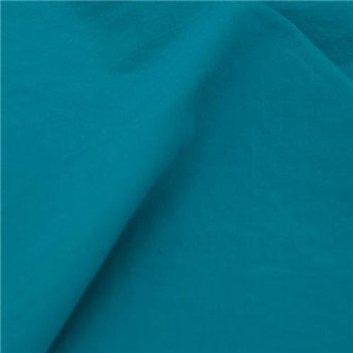 POPELINE GOTS Tile Blue