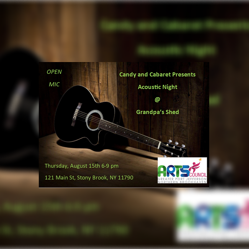 Open Mic Night: Acoustic Night at Grandpa's Shed
