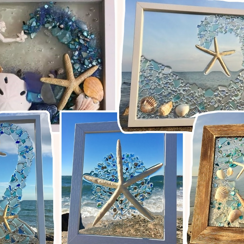 Fundraiser: Sea Glass with the Arts