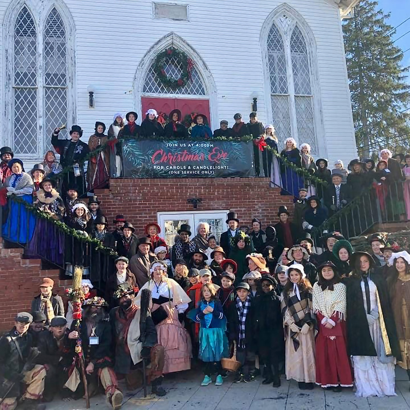 24th Annual Charles Dickens Festival December 7 & 8, 2019