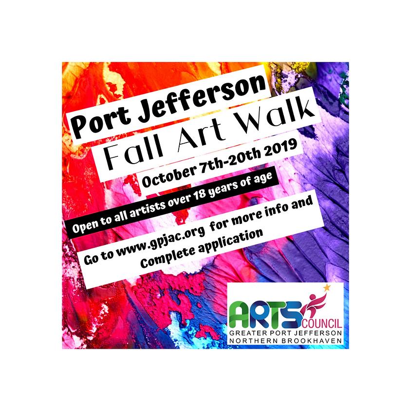 Port Jefferson FALL Art Walk