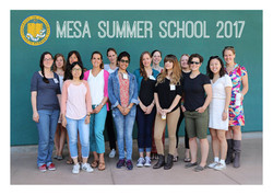 Attending the MESA Summer School in 2017. The friendships I made here have been long-lasting!