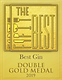 Best Gin Double Gold Medal