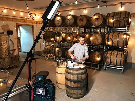 Gavin and the Barrel Room