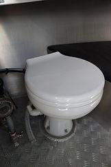 Onboard toilet