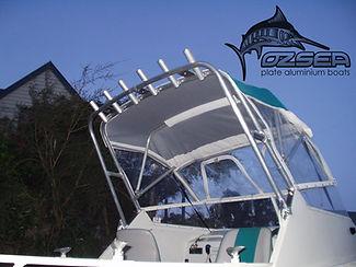 Boat bermini / rocket launchers