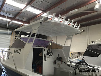 Boat hard top conversion