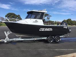 Ozsea Plate aluminium boat