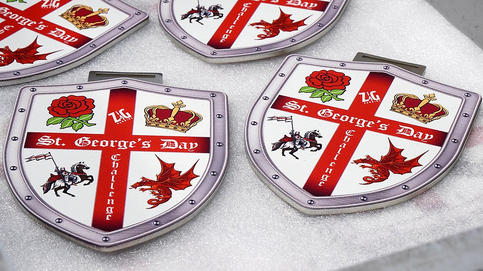St Georges Day Virtual Challenge