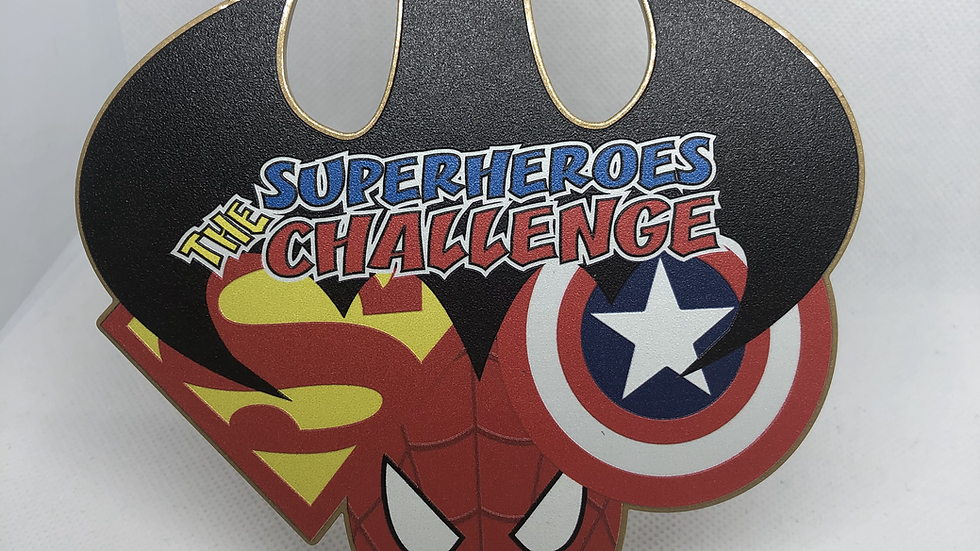 The Superheroes Virtual Challenge