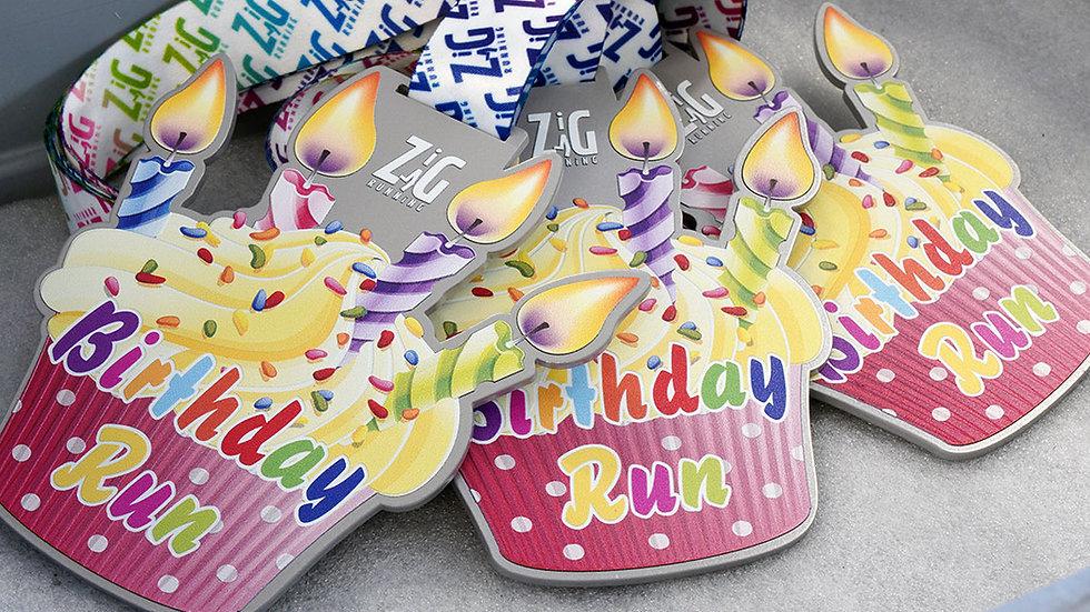 Birthday Run Virtual Challenge