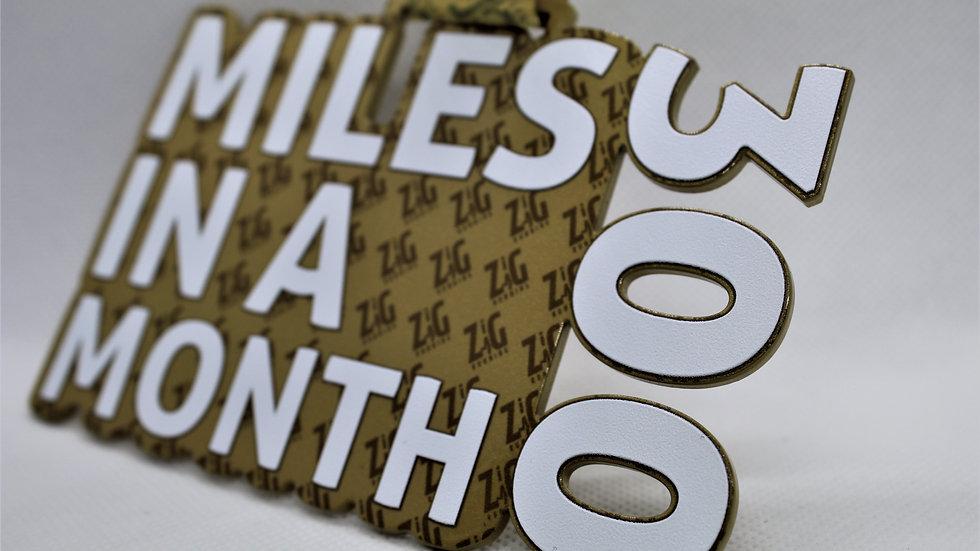 December Monthly Miles Challenge