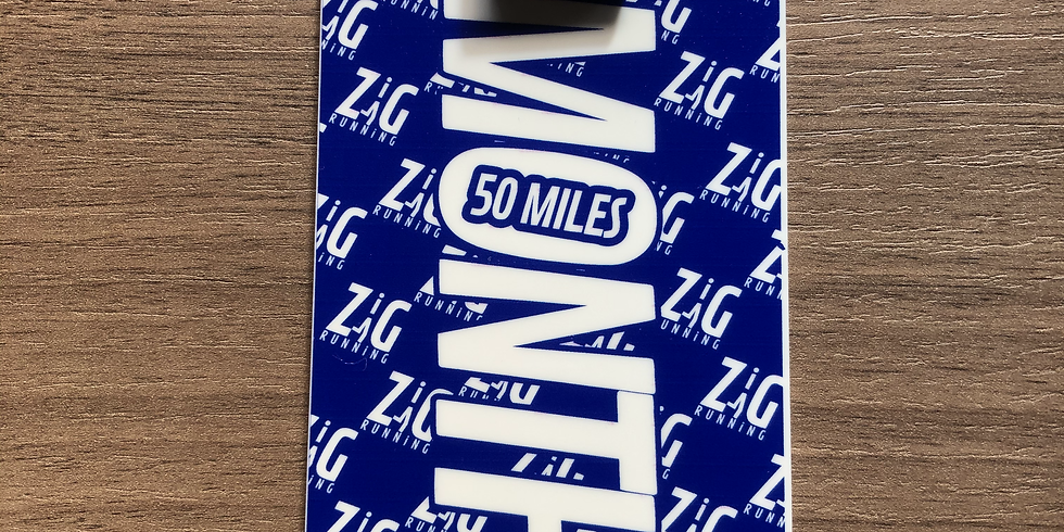 50 Miles in a Month Virtual Challenge - July