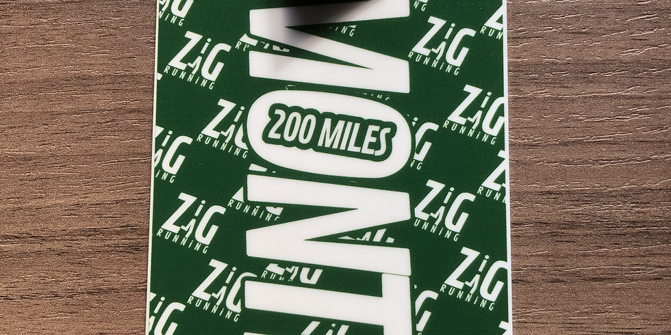 200 Miles in a Month Challenge - July