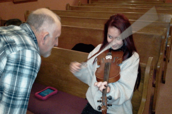Music Camp Ashley Chester fiddle