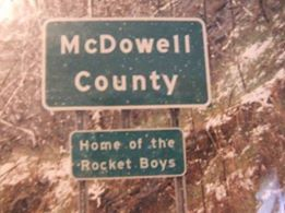mcdowell county sign