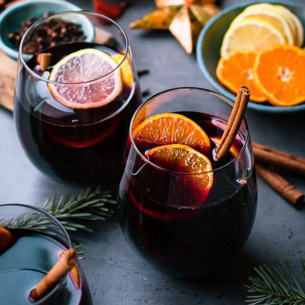 Warm Mulled Wine