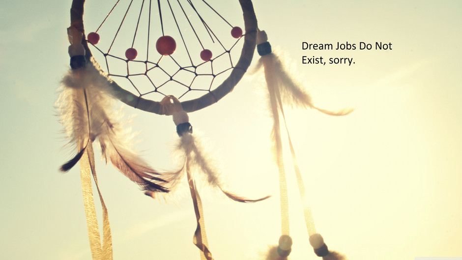 10 Reasons Why Dream Jobs Do Not Exist