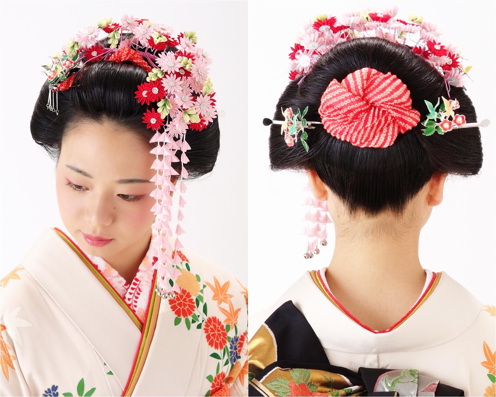 知性と品格漂う日本髪