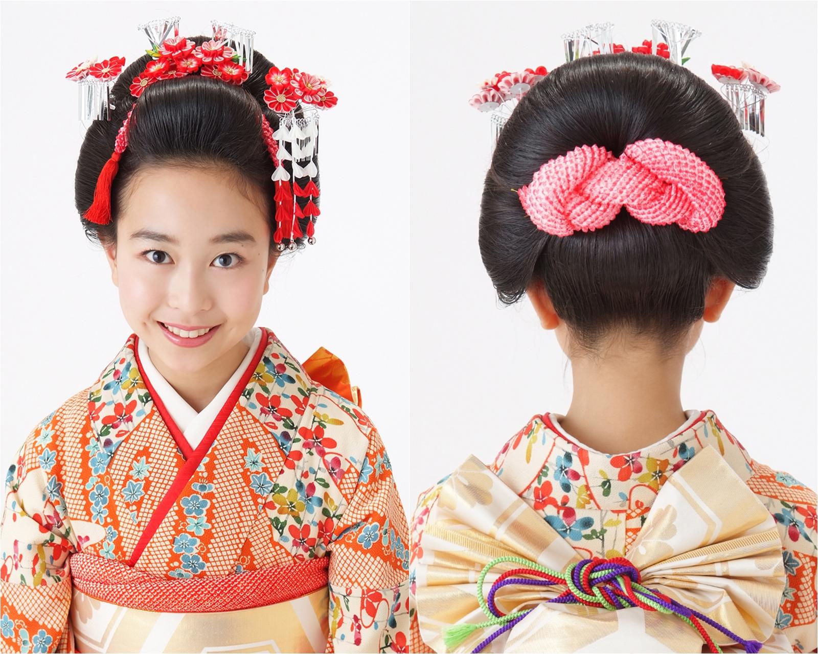 精錬された美しさが際立つ新日本髪