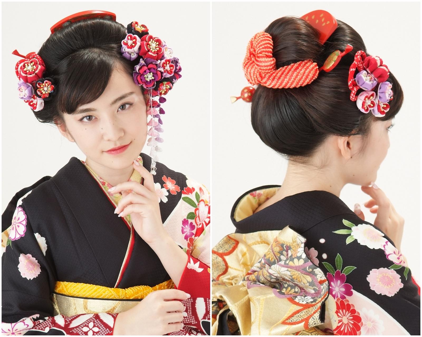 クラシカルモダンな日本髪