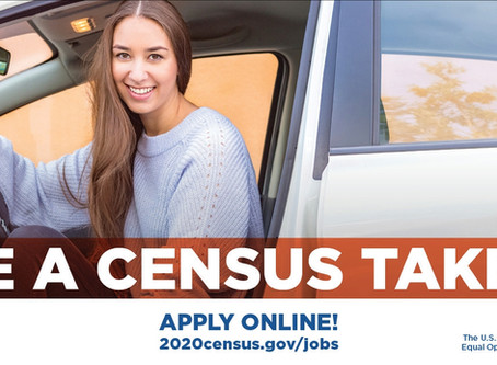 Want to be a Census Taker in 2020?