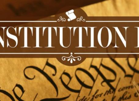 Legislative Update - September 17th, Constitution Day