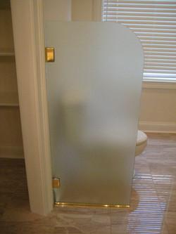 Glass - Toilet Partition