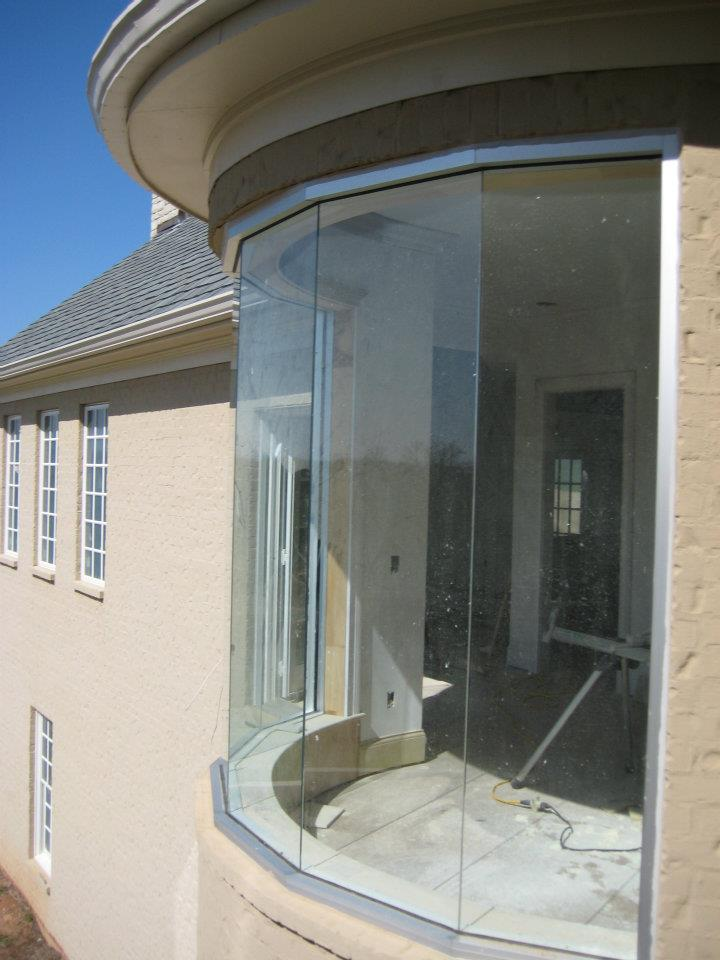 Glass - Commercial Style Windows Residential Application