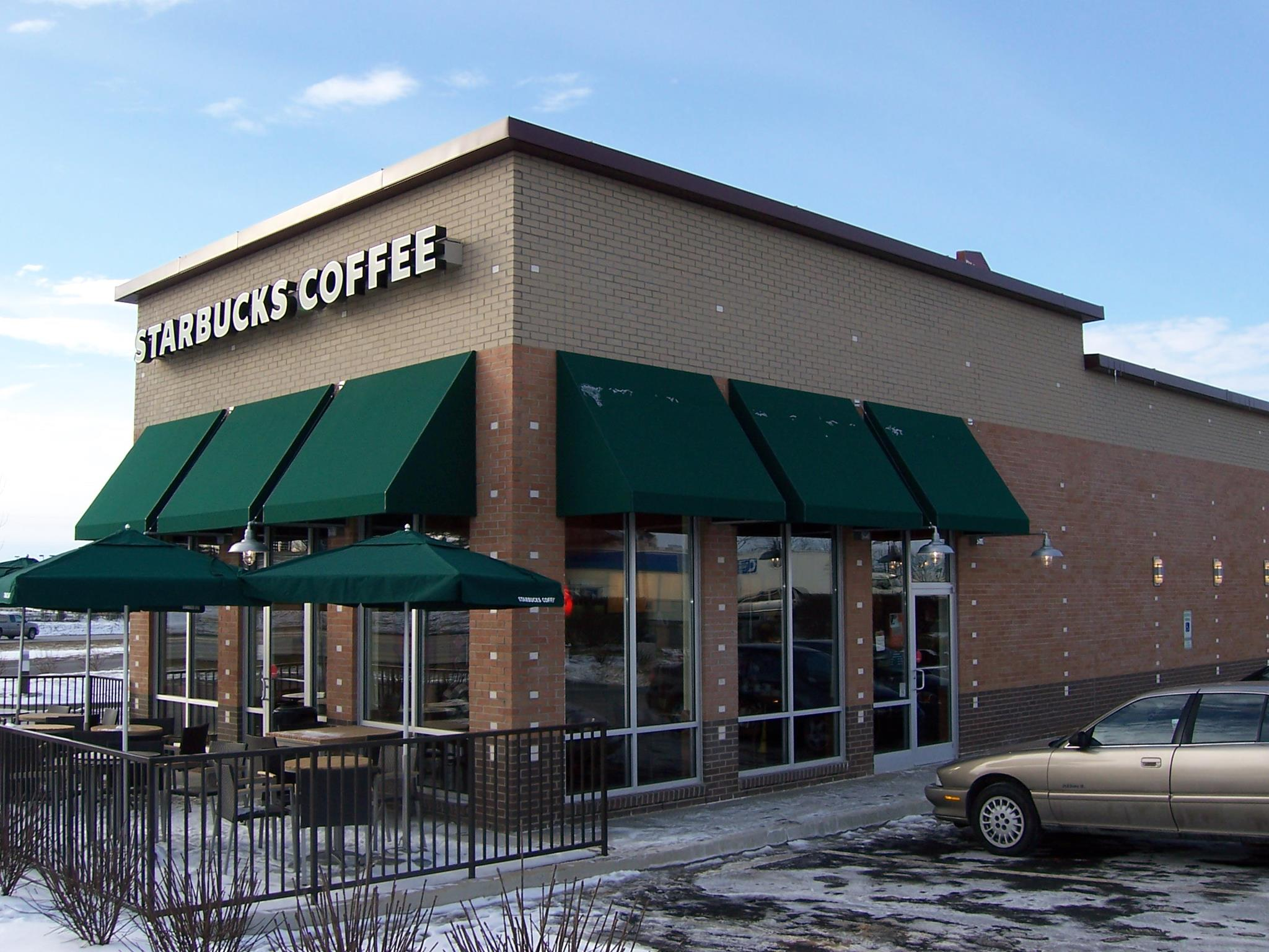 Commercial Glass - Starbucks