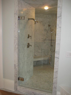 Glass Shower Doors - Oversized Frameless Shower Door