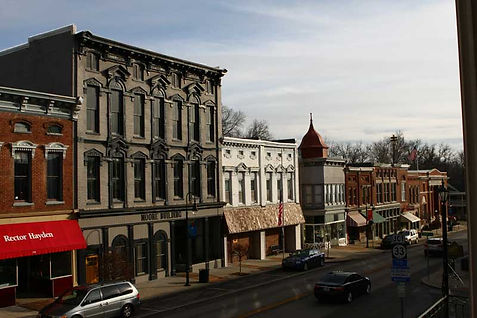 Downtown Versailles Kentucky