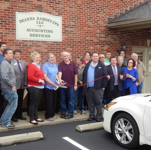 Deanna Ramsey CPA Ribbon Cutting