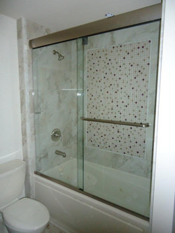 Glass Shower Doors - Heavy Glass Sliding Doors