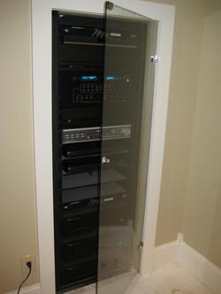 Glass - Stereo Cabinet Door