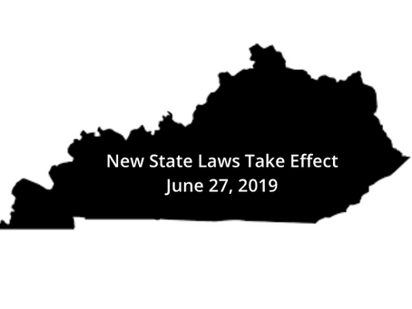 Legislative Update - New Law Implementation