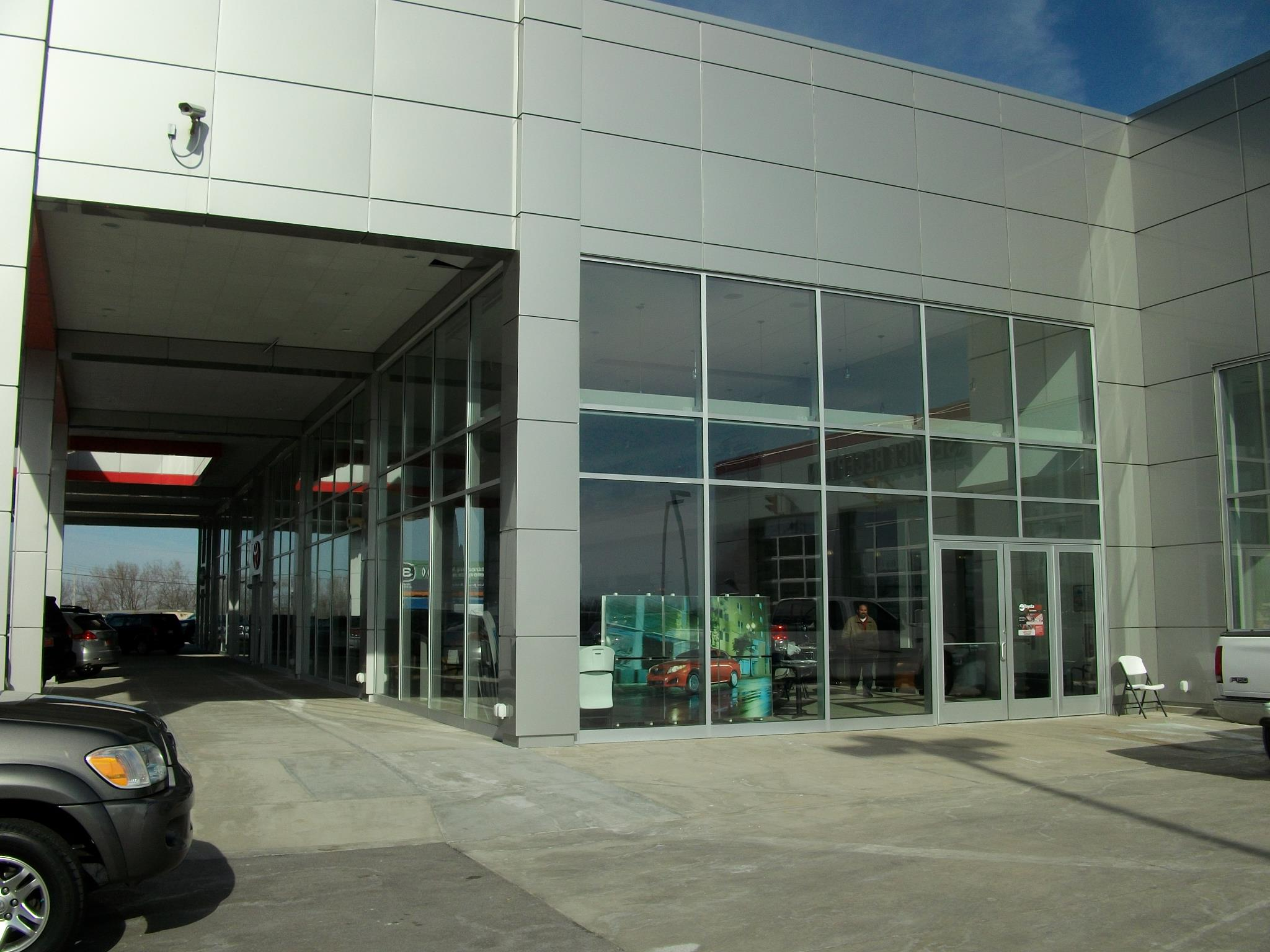 Commercial Glass - Toyota Nicholasville 3