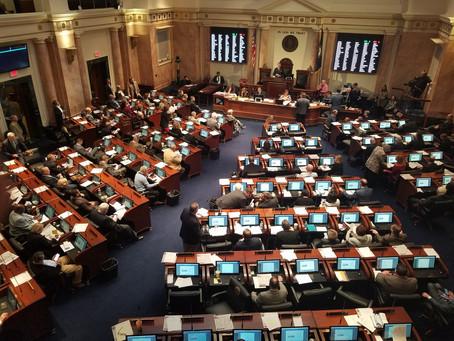 Legislative Update: Legislative Sessions 2020 to Start Jan. 7
