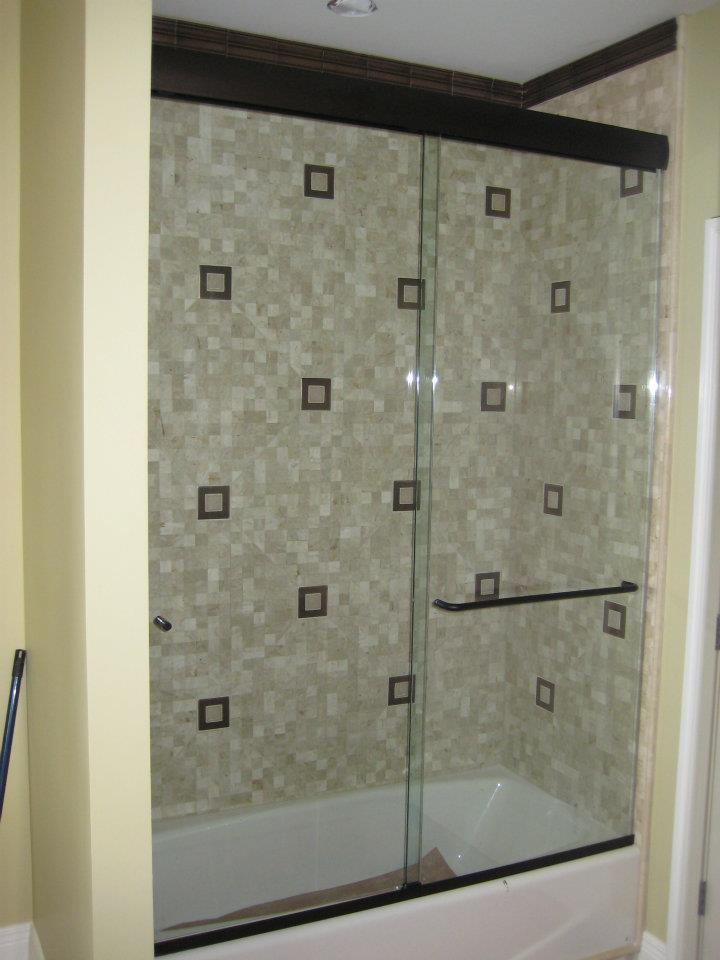 Glass Shower Doors - Heavy Glass Sliders