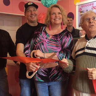 Spotz Gelato Ribbon Cutting