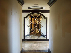 Glass - Arch-top Decorative Mirror