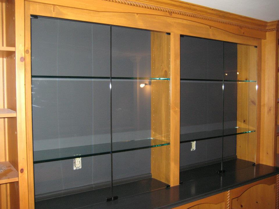 Glass - Doors & Shelves for Display Case